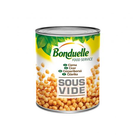 Bonduelle sous vide csicseriborsó konzerv 2550g/2100g