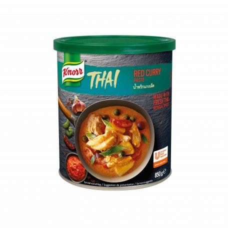 Knorr thai vörös curry paszta 850g