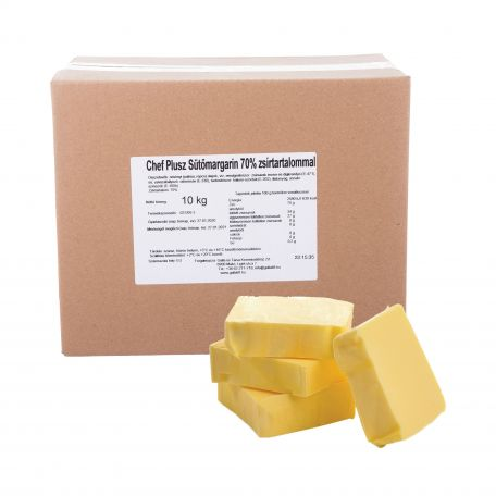 Shef plusz sütőmargarin 70% 10kg