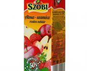 Gyümölcsnektár alma-szamóca 50% 200ml