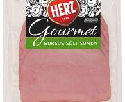 Sonka sült borsos gourmet 84% szeletelt herz 100gr (elo)