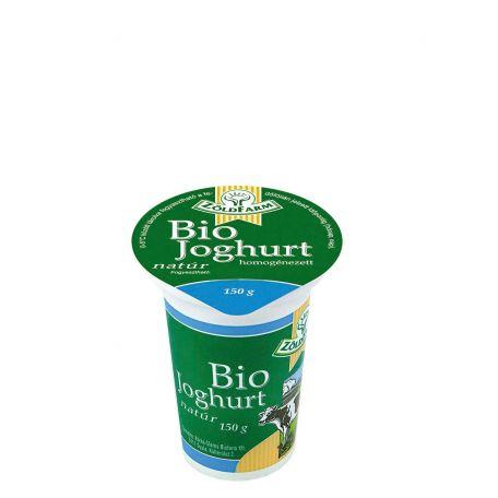 Naszály bio zöldfarm joghurt 3,5% 150g