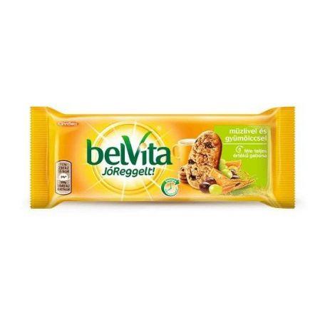 Belvita müzli-gyümölcsös keksz 50g