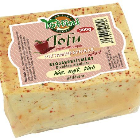 Pritaminpaprikás tofu 300g