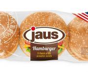 Hamburger zsemle szezámmagos 300gr (6db/cs)