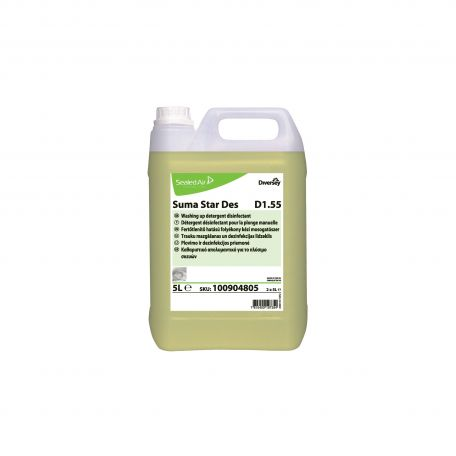 Suma Star Des D1.55 kézi fertőtlenítő folyékony mosogatószer 5l