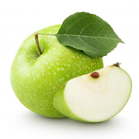 Zöld alma mosott