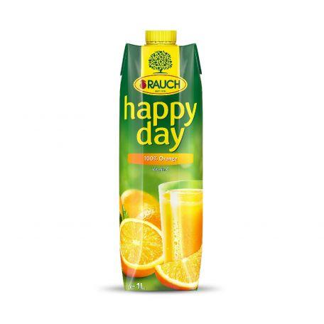 Happy Day narancs üdítőital 100% 1l