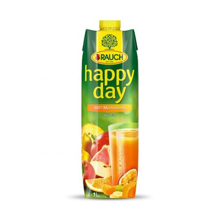 Happy Day multivitamin üdítőital 100% 1l
