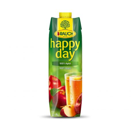 Happy Day alma üdítőital 100% 1l